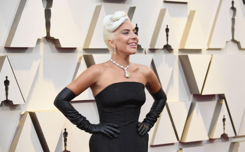 Lady Gaga, au gala des Oscars 2019.