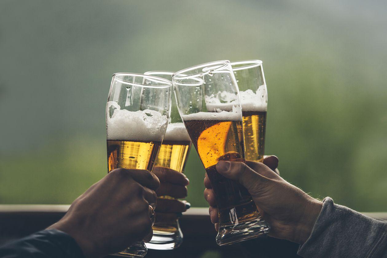 65% de la consommation de bière se fait dans les bars et restaurants
